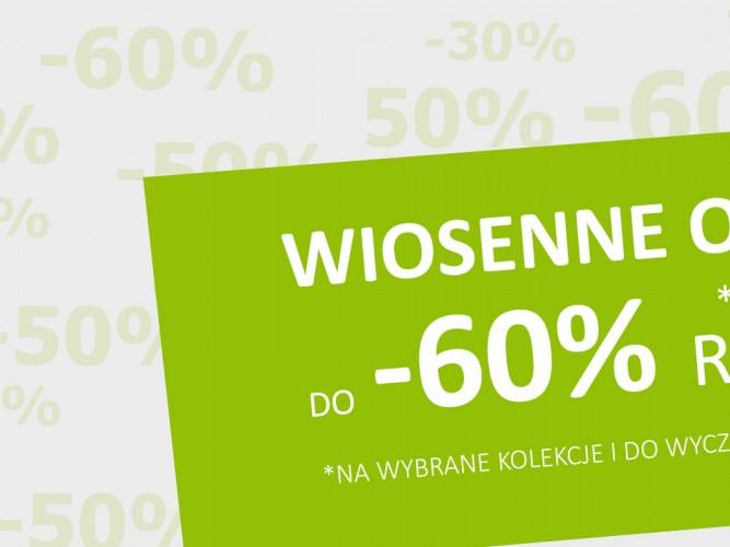 wiosenna promocja do -60%